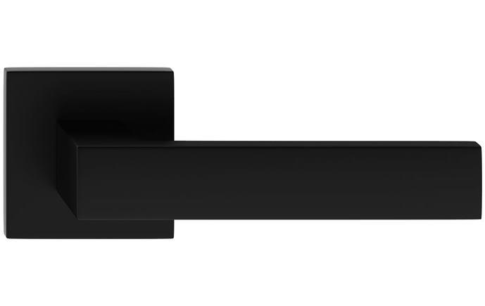 Cube hranatá slim - farba čierna matná