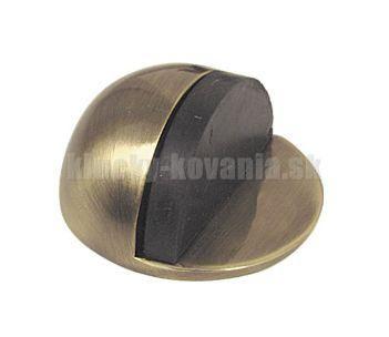 Doraz dverí okrúhly lepiaci - faba bronz