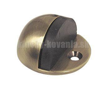 Doraz dverí okrúhly šróbovací - farba bronz