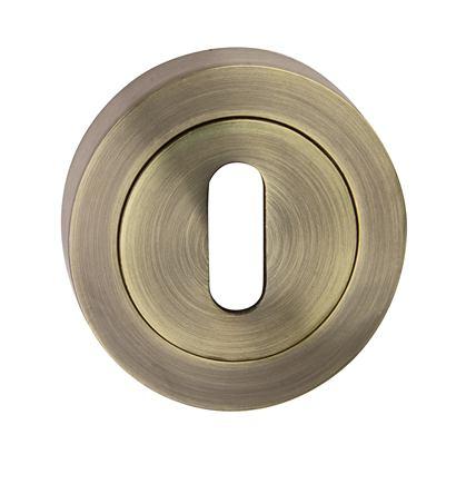 Rozeta okrúhla kľúč - farba bronz SNOPK