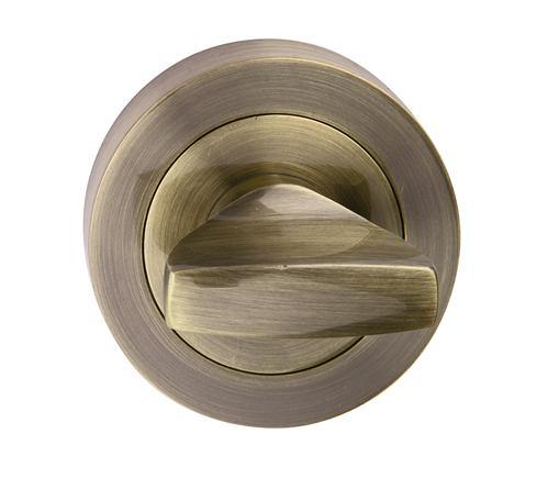 Rozeta okrúhla wc - farba bronz SNOPW