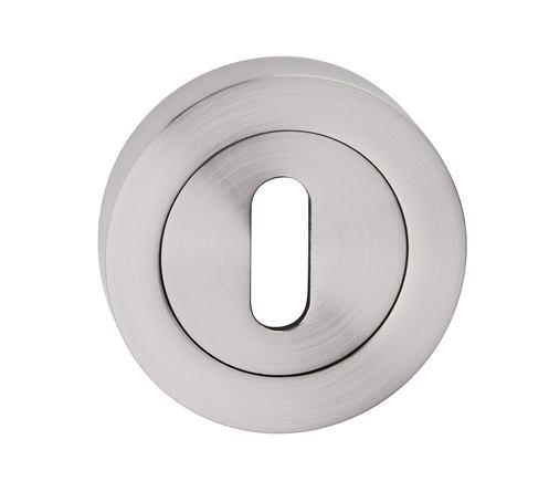 Rozeta okrúhla kľúč - farba nikel matný SNONK