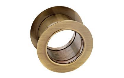 Kryty ventilačných otvorov okrúhle - bronz