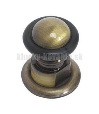 Doraz dverí retro 36 mm šróbovací - farba bronz