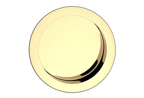 Úchyt okrúhly premium - farba mosadz UOKMB