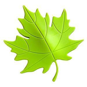 Dverová zarážka list zelený