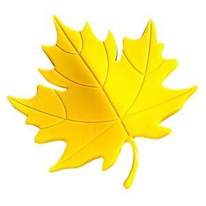 Dverová zarážka list žltý