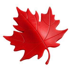 Dverová zarážka list červený