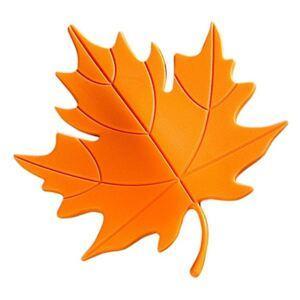 Dverová zarážka list oranžový
