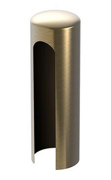 Krytka na pánty 15mm - farba bronz