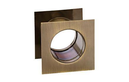 Kryty ventilačných otvorov hranaté - bronz 40 mm