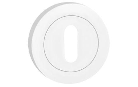 Rozeta okrúhla kľúč - farba chróm SNOCHK