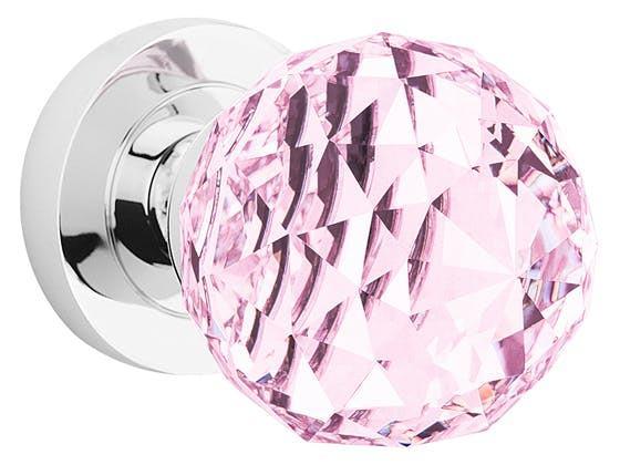 Guľa Crystal - ružová