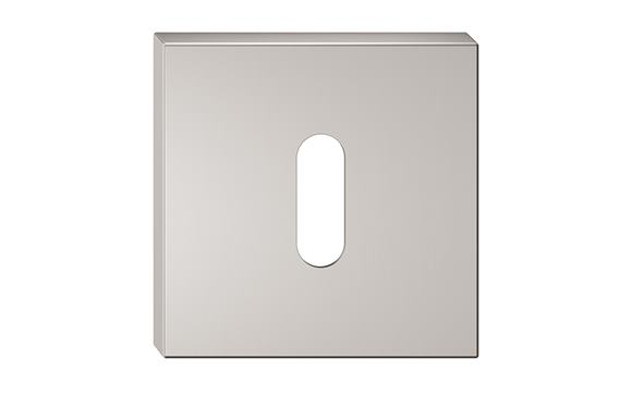 Rozeta - farba nikel matný kľúč SZQNMK