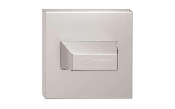 Rozeta - farba nikel matný wc SZQNMW
