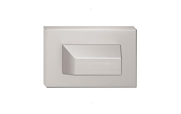 Rozeta úzka - farba nikel matný wc SZQNMW