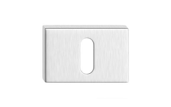 Rozeta úzka - farba chróm matný kľúč SZPCMK
