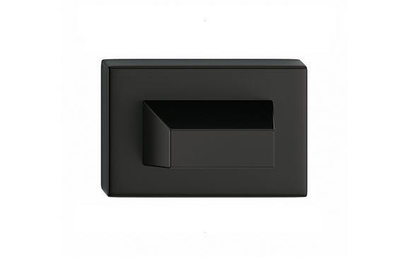 Rozeta úzka - farba čierna wc SZPCZW