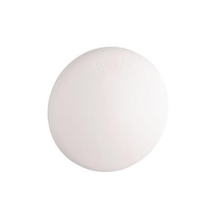 Doraz dverí na stenu lepiaci 60mm - biely