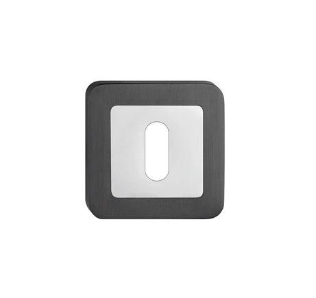 Rozeta hranatá kľúč - farba grafit SZZGK