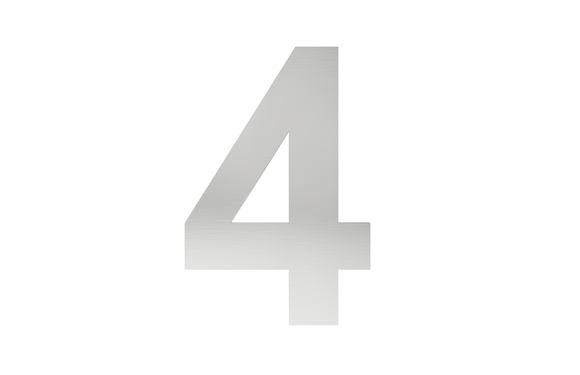 Číslo na označenie budovy 4