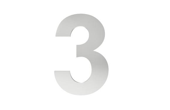 Číslo na označenie budovy 3