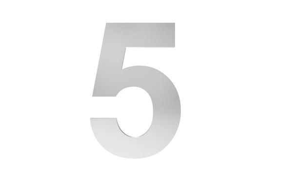 Číslo na označenie budovy 5