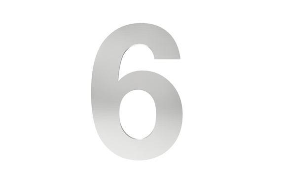 Číslo na označenie budovy 6
