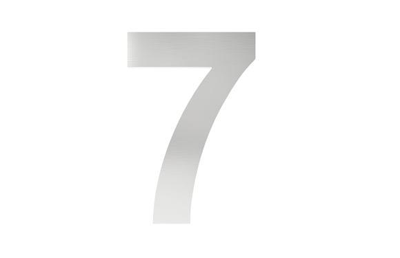 Číslo na označenie budovy 7