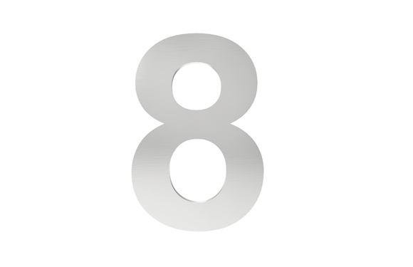 Číslo na označenie budovy 8