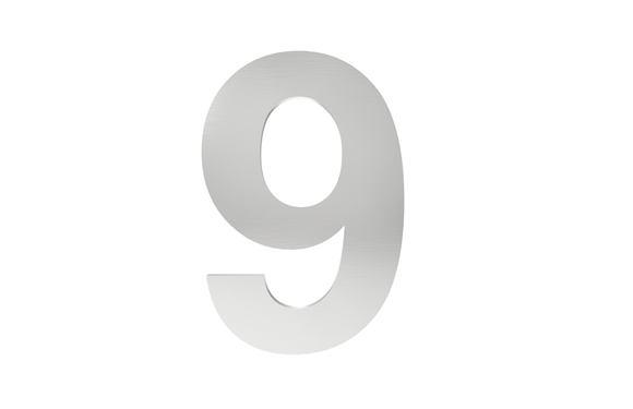 Číslo na označenie budovy 9