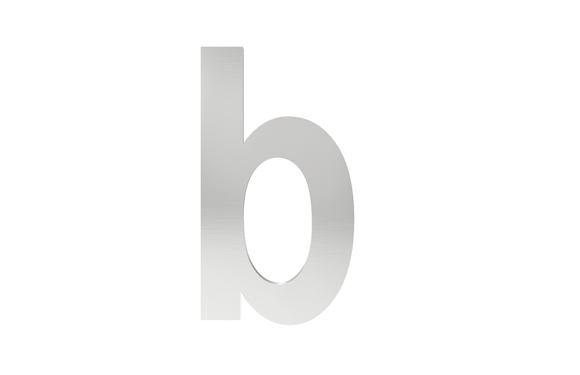 Písmeno na označenie budovy b