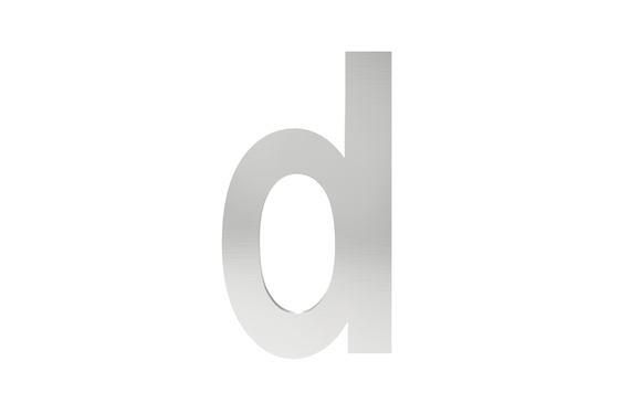 Písmeno na označenie budovy d