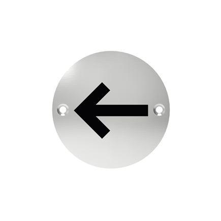 Označenie dverí - piktogram šípka, šróbovacie
