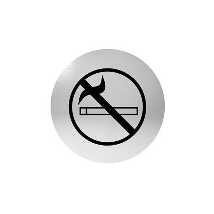 Označenie dverí - piktogram zákaz fajčiť, samolepiace