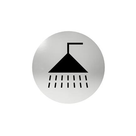 Označenie dverí - piktogram sprcha, samolepiace
