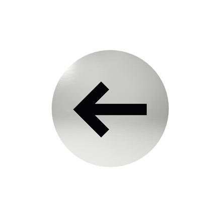 Označenie dverí - piktogram šípka, samolepiace
