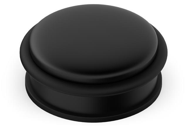 Doraz dverí voľne stojací - farba čierna ODNCZ