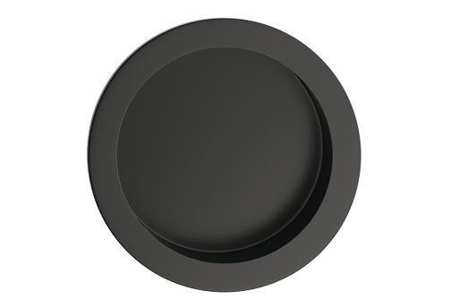 Úchyt okrúhly premium - farba čierna UOKCZ
