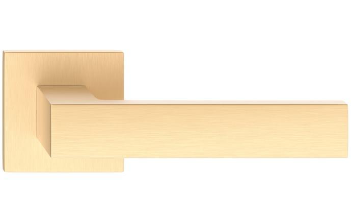 Cube hranatá slim - farba mosadz matná