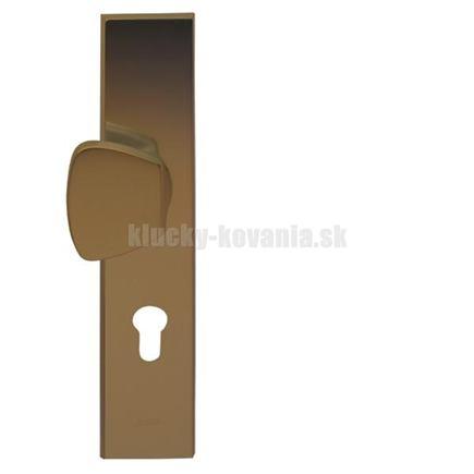 AXA - VDS kľučka/madlo - farba F4 staré zlato